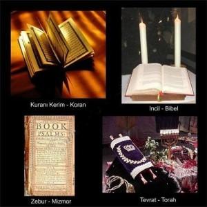 Tevrat, İncil, Kur'an