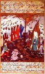 Beheading by Islamic Prophet Muhammads cousin Ali of Nadir