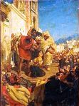 Execution of a Moroccan Jewess (Sol Hachuel) a painting by Alfred Dehodencq