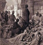 Muhammad the Prophet and Muslims mass slaughter the Banu Qurayza Jewish Tribe