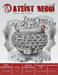 ateist dergi sayı 2 Şubat 2014