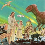 Creationism vs Evolution Museum and Petting Zoo